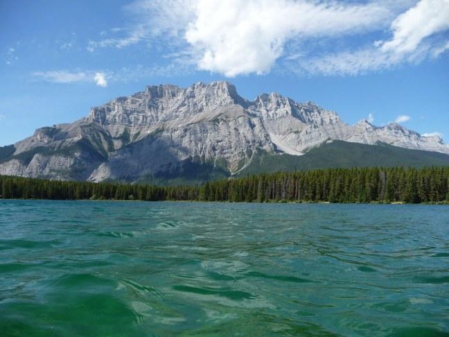 Kayaking Two Jack Lake