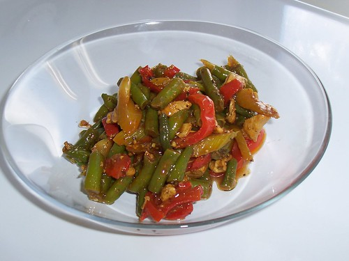 Chiciken and Bean Stir-fry