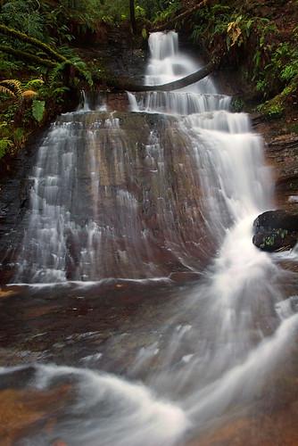 Golden Cascade Falls (lower part)