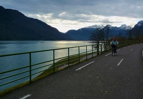 Lake Annecy Bike Path