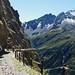 Closed Passo Gavia stretch