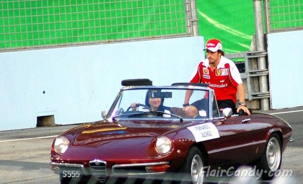 F1 Signapore Grand Prix 2010 - Day 3 Qualifying (23)