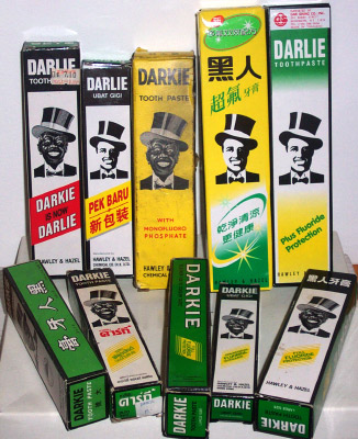 Darkie Toothpaste Over the Years