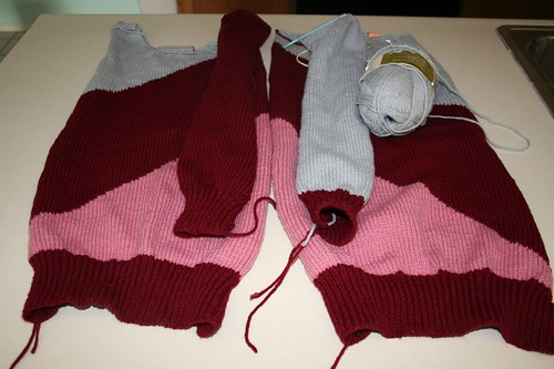 Grandma's obnoxious sweater project