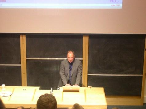 Tim Berners Lee in Oxford