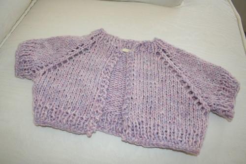 The April Birthday Sweater
