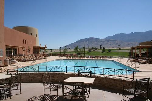 Sandia Resort and Casino, pool, golf course