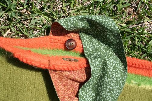 button hole scrap bag
