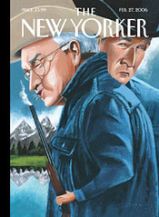 Cheney New Yorker cover