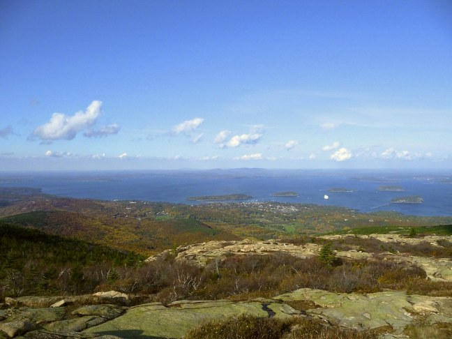 View from atop Cadillac Mountain