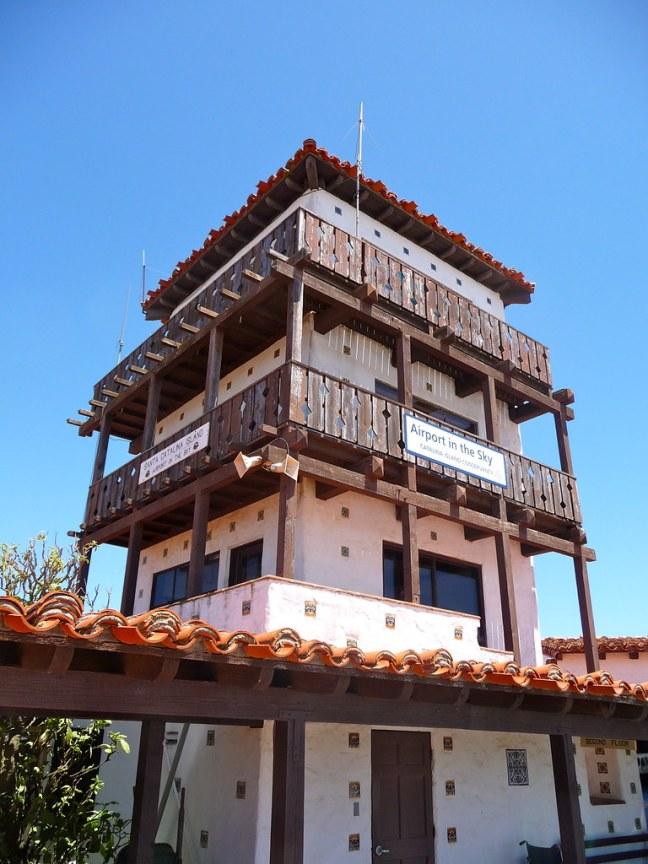 Tower at Catalina Airport