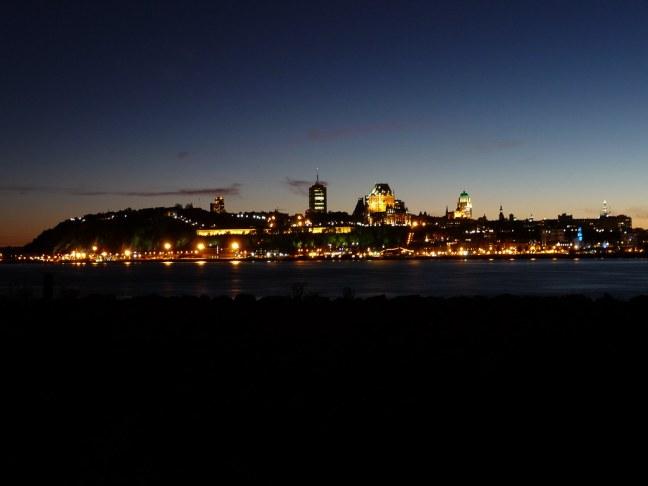 Québec City at Night