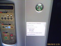 New Starbucks coffee machines