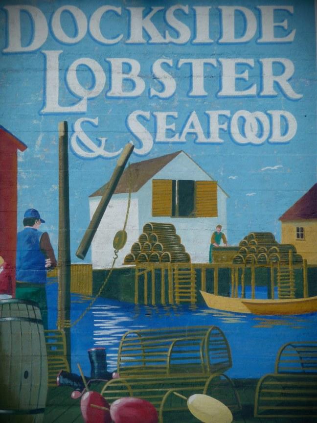Mural in Lunenburg, Nova Scotia