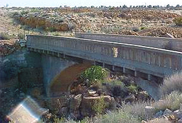 Canyon Diablo bridge
