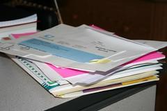 Pile o work