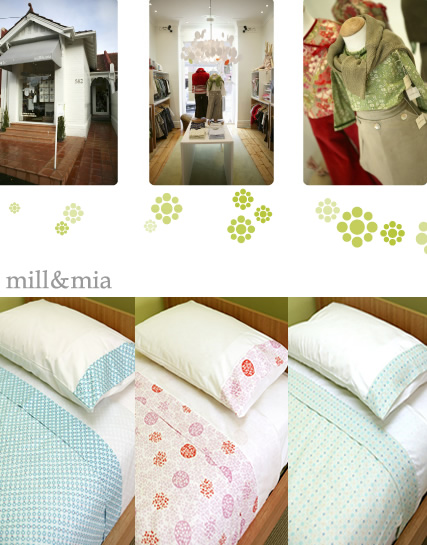 Mill + Mia Bedding For Kids