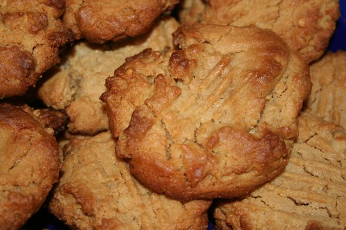 Peanut honey cookies