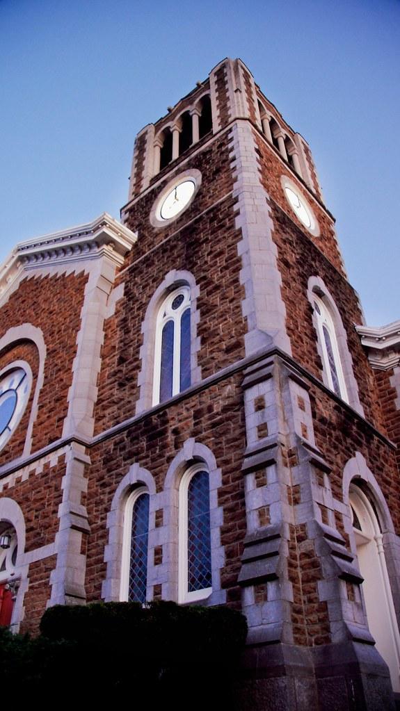 Church in historic village of Clinton