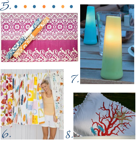 Fresh Finds: Decor at the Shore