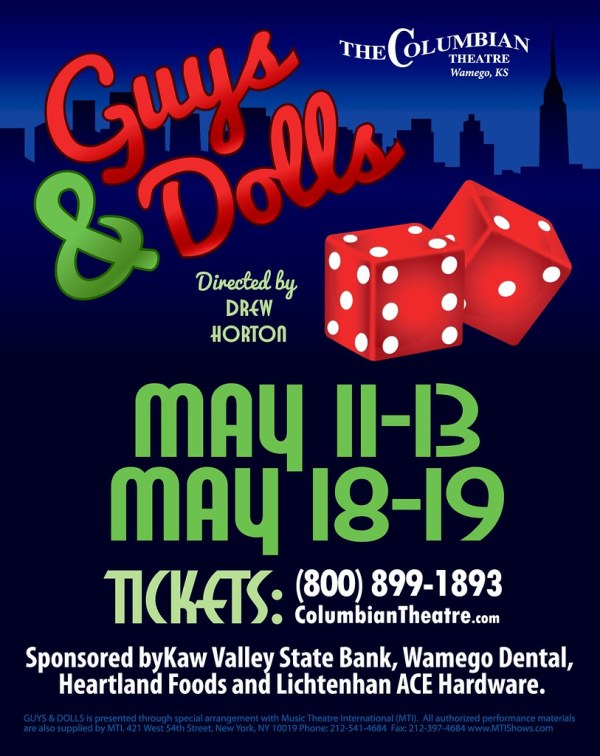 guys & dolls columbian theatre
