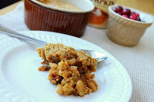 Pumpkin Bean Cornbread Casserole (14)