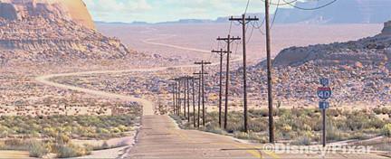 Route 66 vista