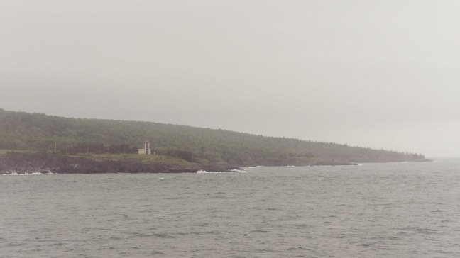 First view of land from ferry to Digby
