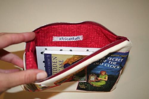 Nancy Drew pouch