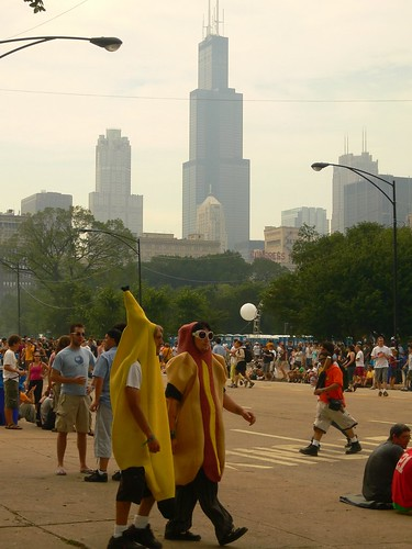 Banana Man & Hot Dog Boy | Out on the town...