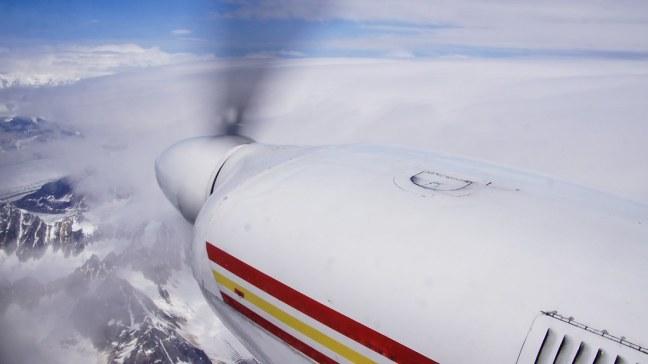 Above Denali National Park