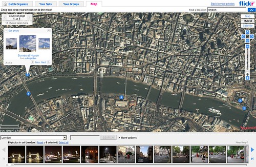Flickr Maps for London