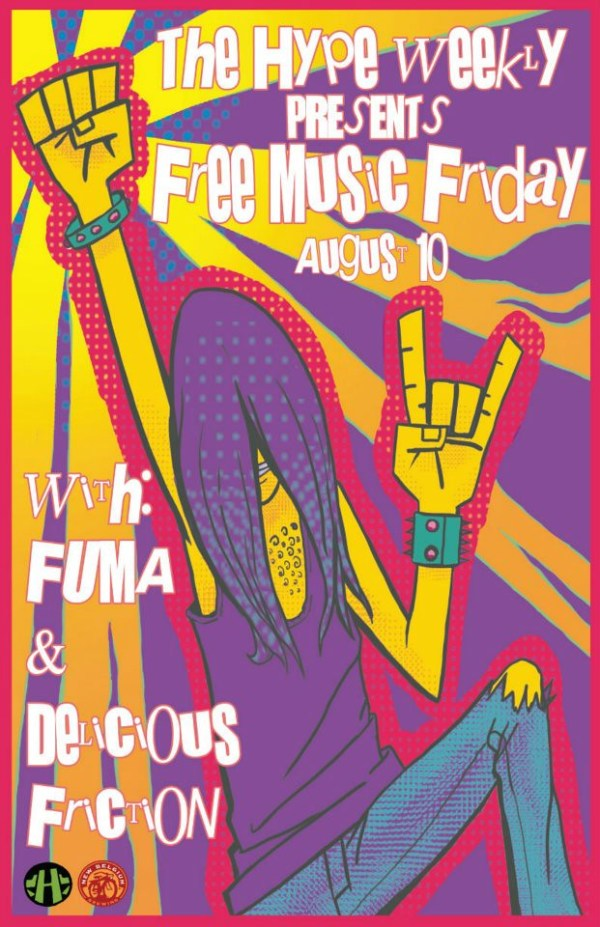 live music fuma delicious friction