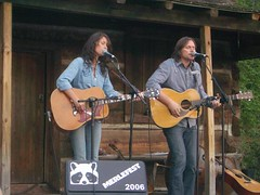 SarahLee and Johnny at Merlefest