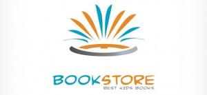 Abstract Logo Design for Book Stores