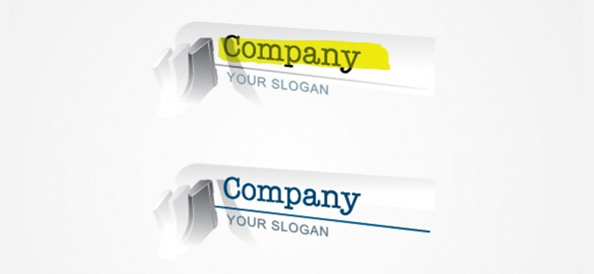 Content Writer Logo Designs