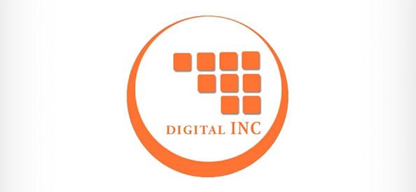 Digital Company PSD Logo Template
