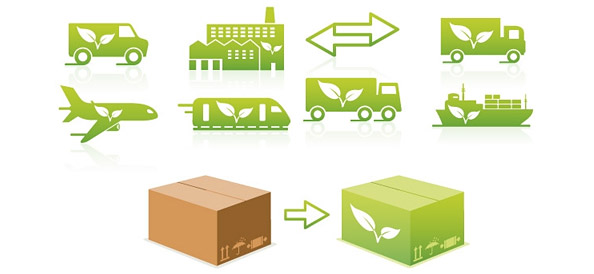 Transportation Eco Logo Designs