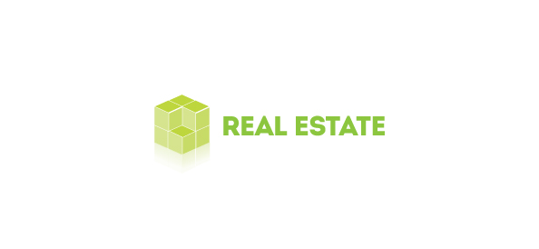3D Logo Template for Real Estate
