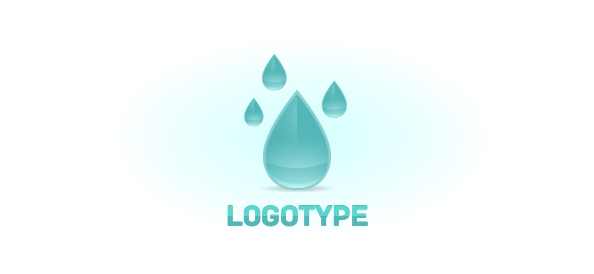 Raindrop Logo Design Template  Free Logo Design Templates