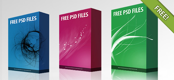 3D Box Template 19 Free PSD PNG EPS Format Download