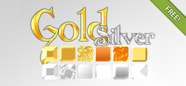 Gold & Silver Effect Styles