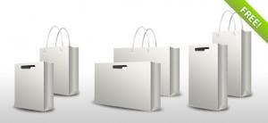 PSD Shopping Bag Set