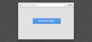 Mini Browser Frame