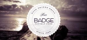 Retro Badge PSD Template