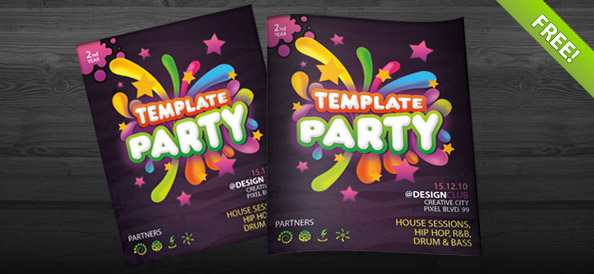 Template Party Flyer