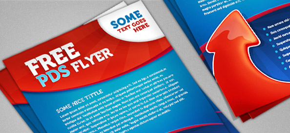 free template flyer psd