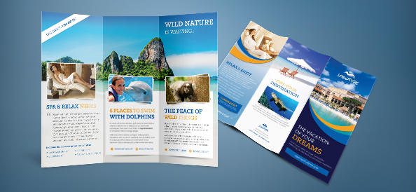 Free PSD Travel Brochure   Free PSD Files Free PSD Travel Brochure