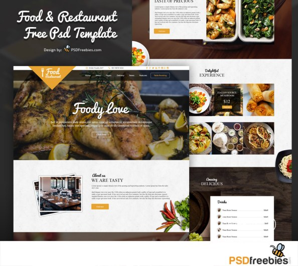 Food-and-Restaurant-Free-PSD-Template