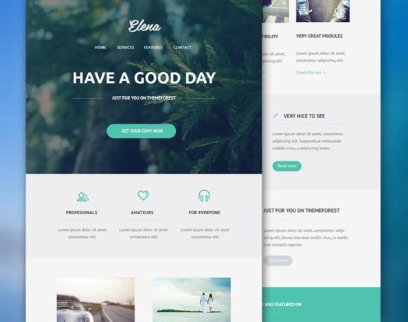 elena-email-psd-theme